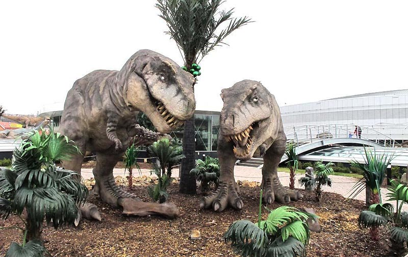 42 - Dinosaur Park in Prague - a park on the roof of the shopping center (32 km)