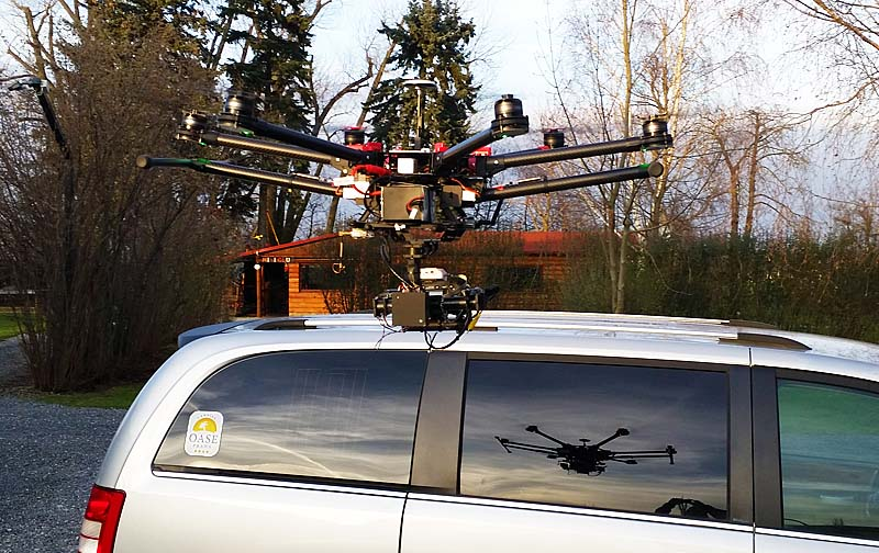 Copter DJI 900, with which we are doing aerial photography