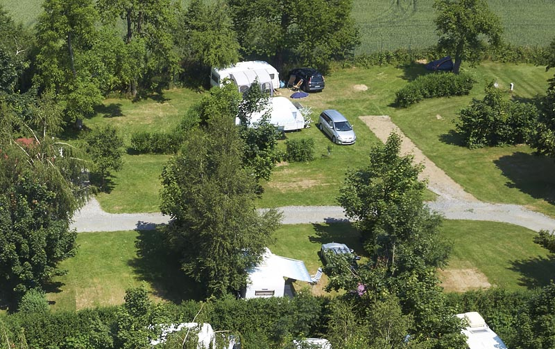 Camping Oase Praha - pitches 38-40 and 47-55