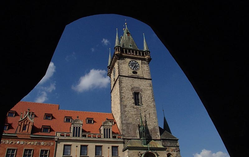 Tower Hall in Old Town Square