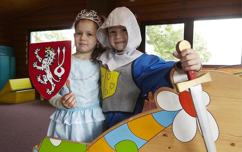 If your children do not have their own fancy dress, we can lend them