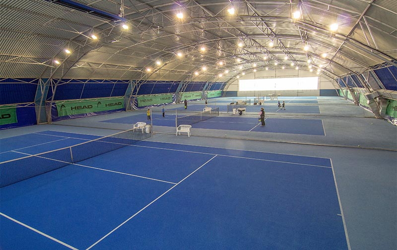 25 - Head tennis center - with indoor and outdoor courts (6 km)